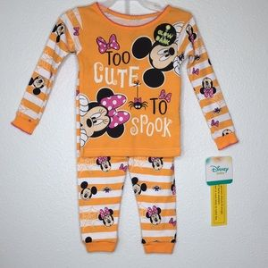 Disney Baby Minnie Halloween PJ set